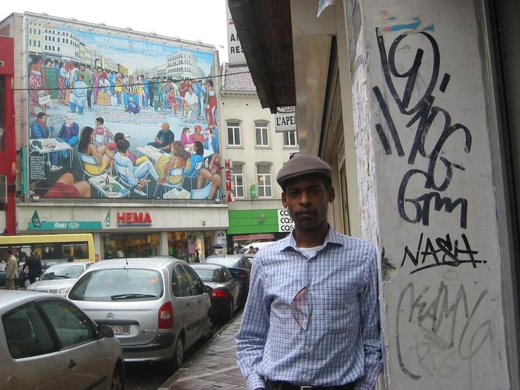 A Bruxelles, Chaussée d'Ixelles
