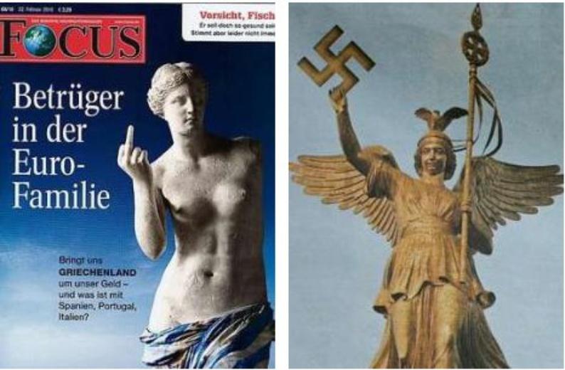 Le immagini simbolo della crisi Atene-Berilno