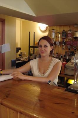 Nebenjob in einem Cyber-Café, Irland