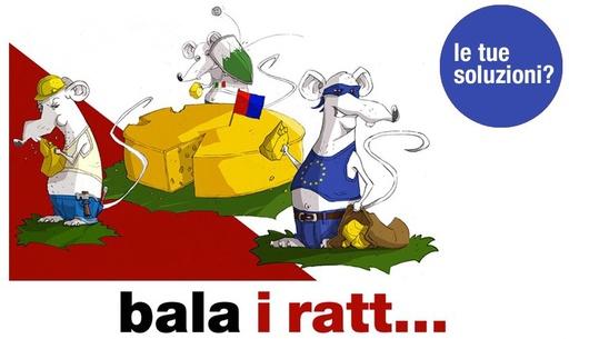Italiener, Rumänen, Europa im Allgemeinen werden hier abgelehnt
