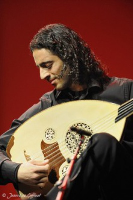The brothers play the oud, 'the king of Arabic instruments' as Wissam calls it