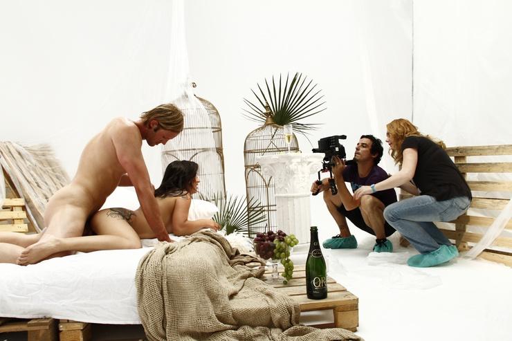 Kayden kross behind scenes