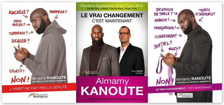 Kandidat für die französischen Legislativwahlen 2012
