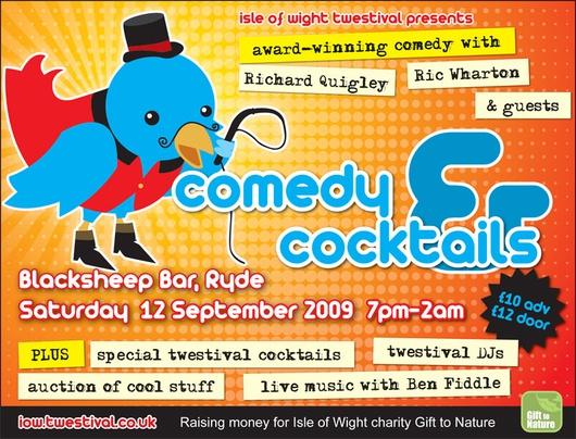 L'affiche du Twestival de l'île de Wight