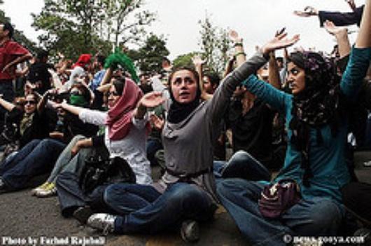 Proteste in Teheran nach den Wahlen (Flickr)