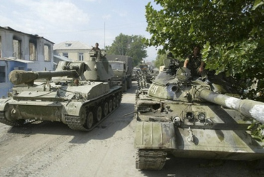 guerra en Osetia