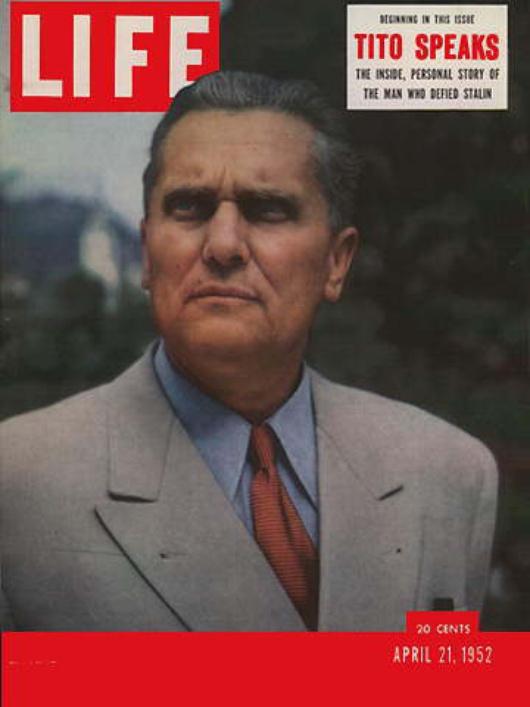 Copertina del 1952 di Life magazine
