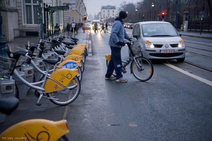 Il centro cittadino ne è pieno, forse perché davvero le due ruote sono il mezzo più pratico per spostarsi nella capitale d'Europa