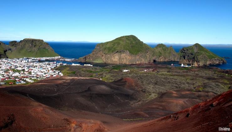 capital of the Vestmannaeyjar (Westmann Islands)