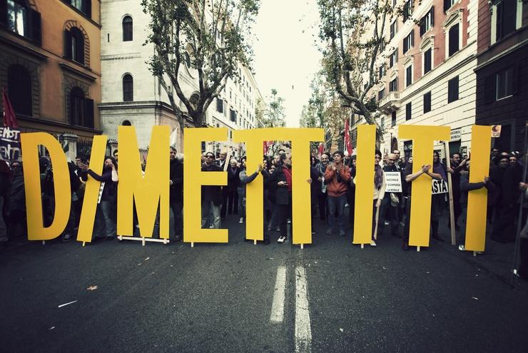 Il No B Day per le strade di Roma
