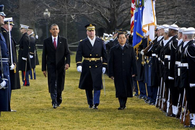Pocos líderes han tenido una acogida tan pomposa en la Casa Blanca como Hu Jintao... ¿Símbolo del poder chino?