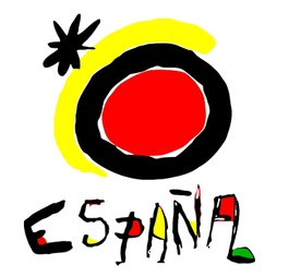 Designed by Spanish legend Joan Miro: what would a Romania logo look like?