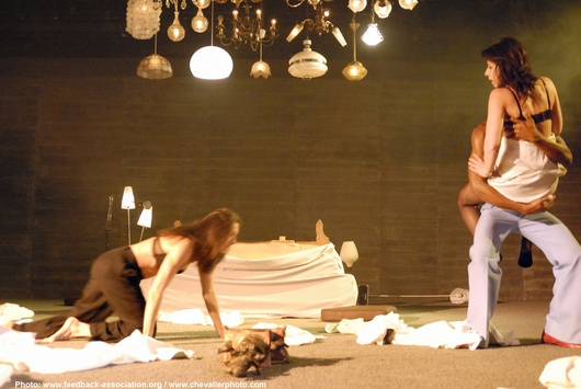 Comédie Saint Etienne mit dem Regisseur Vladimir Steyaert