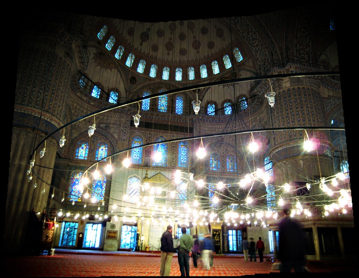 Also known as the Blue Mosque