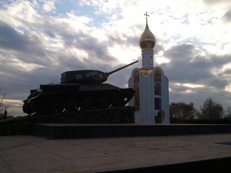 Voilà l'image d'un pays où la plupart de ses habitants sont encore tentés par la Russie.