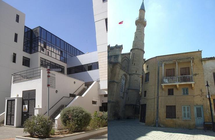 Nicosie, capitale des deux Chypre, est le visage contrasté d'un pays divisé | Crédits : Reinholdberinger/ Flickr & gunnarinIstambul / Flickr