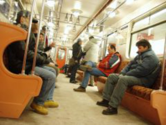 metro Budapest vacío