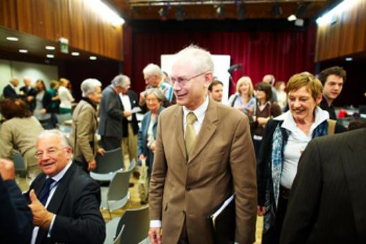Herman Van Rompuy au MEB