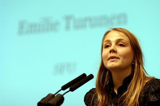 La Danoise âgée de 26 ans entend bien mettre en application ce qu'elle a édicté dans son rapport concernant l'accès des jeunes à l'emploi