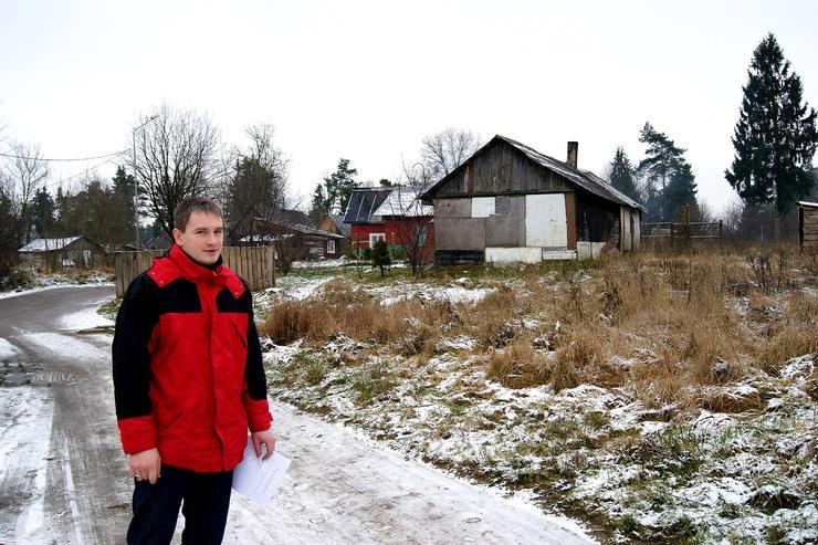 Alm Wochenende ist der Litauer als Sozialarbeiter unterwegs.