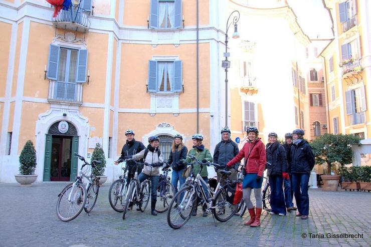 Groupe de cyclistes hollandais