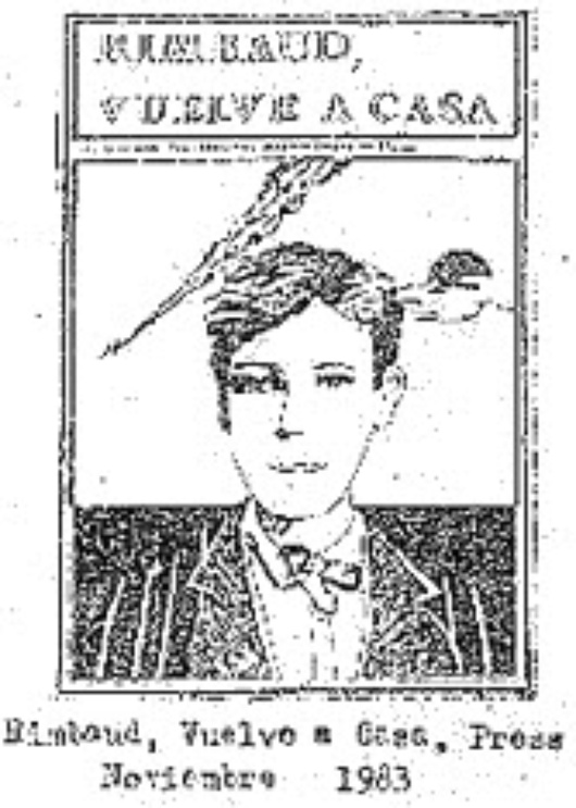 Rimbaud, vuelve a casa (RVAC poetry magazine co-founded in Spain)