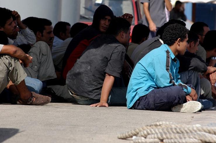 La plupart d'entre-eux ne souhaitent pas faire la demande d'asile, juste trouver un emploi...en France