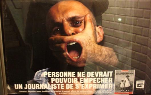"""""""la fin du modèle européen ?"""" se demande Reporter Sans Frontière dans son classement annuel"""