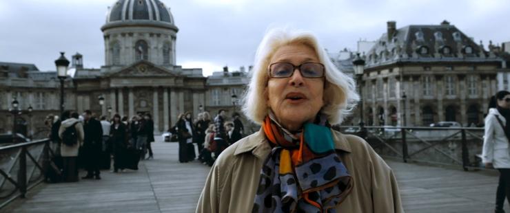 Il documentario è dedicato all'attrice francese di 89 anni.