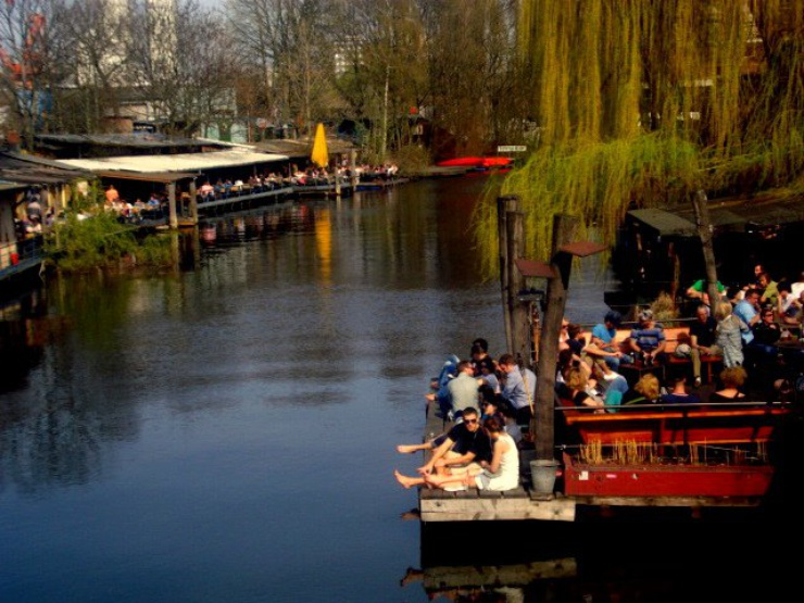 Berlin est appréciée pour son mode de vie relax et sa vie bon marché.