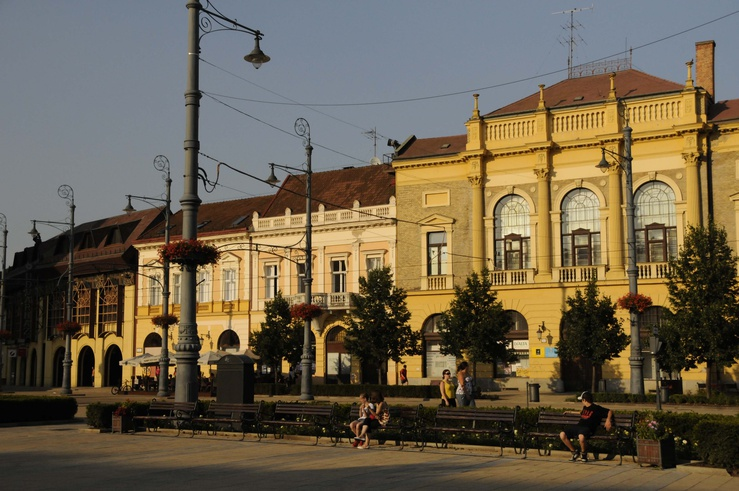Eastern Hungarian city
