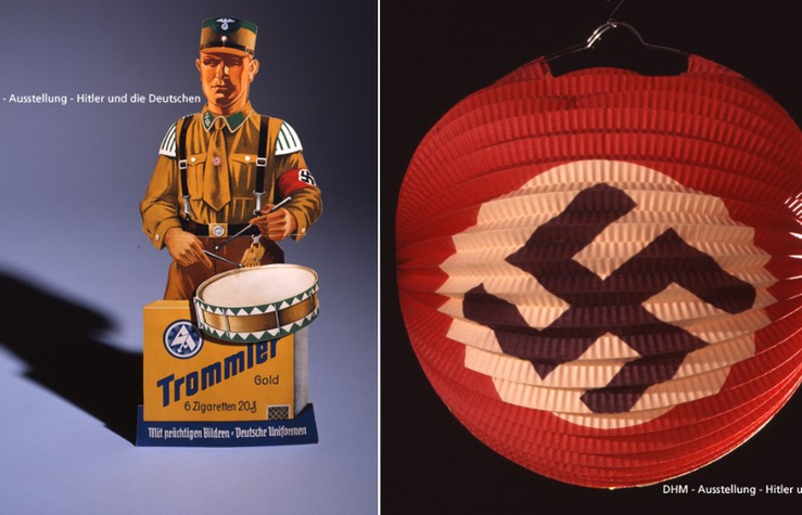 Lanterne avec Swastika, 1940 :©Indra Desnica Deutsches Historisches Museum