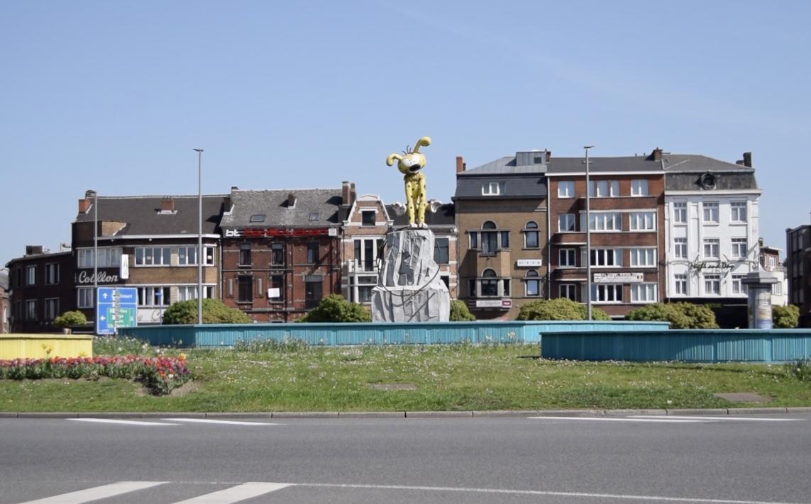 Statue Marsupilami