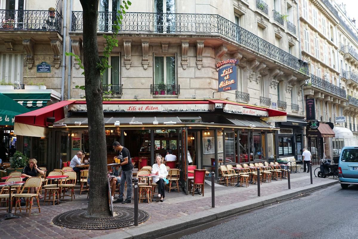 Les terrasses de Montparnasse