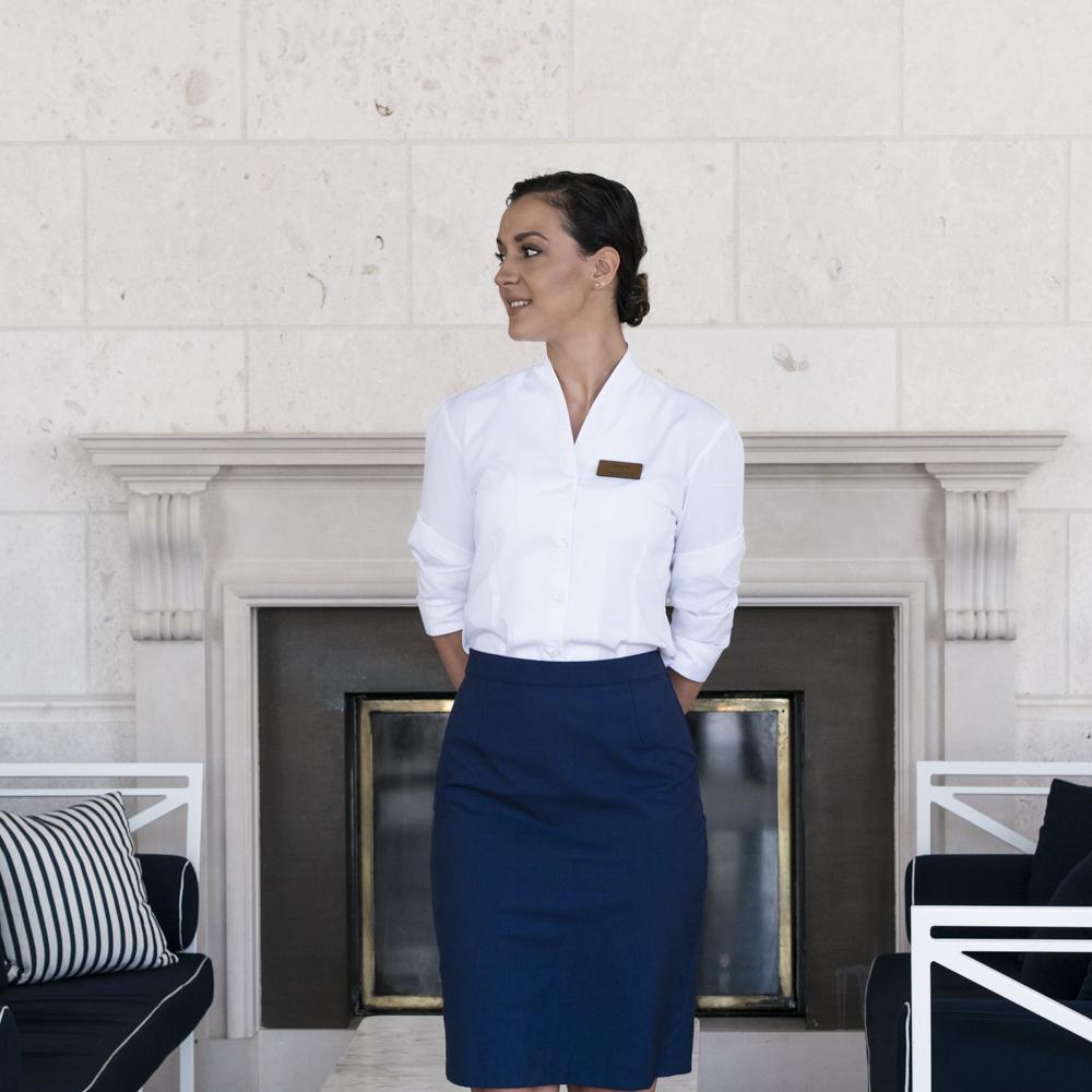 Ivana Kovacina (26) lavora come hostess al Regent Hotel,Tivat