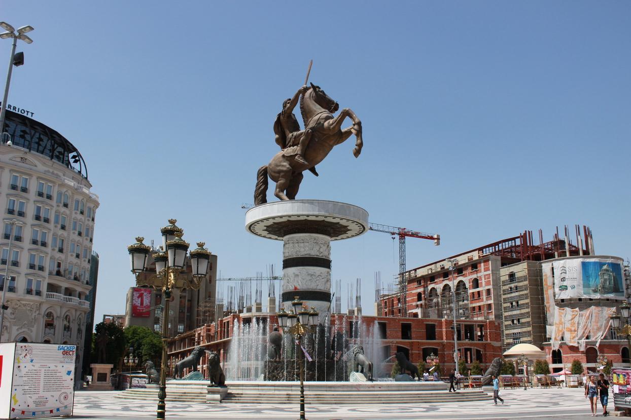 Statue d'Alexandre le Grand