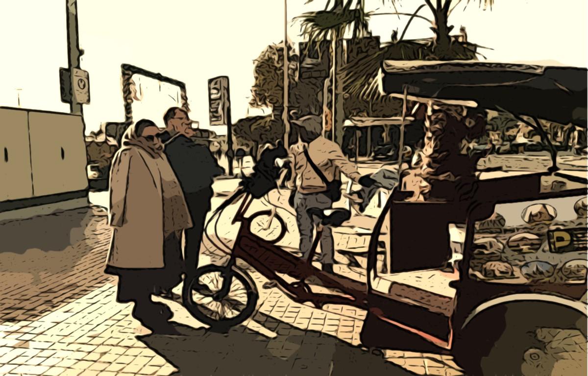 Turistas en Barcelona (cc) Roberta Benvenuto