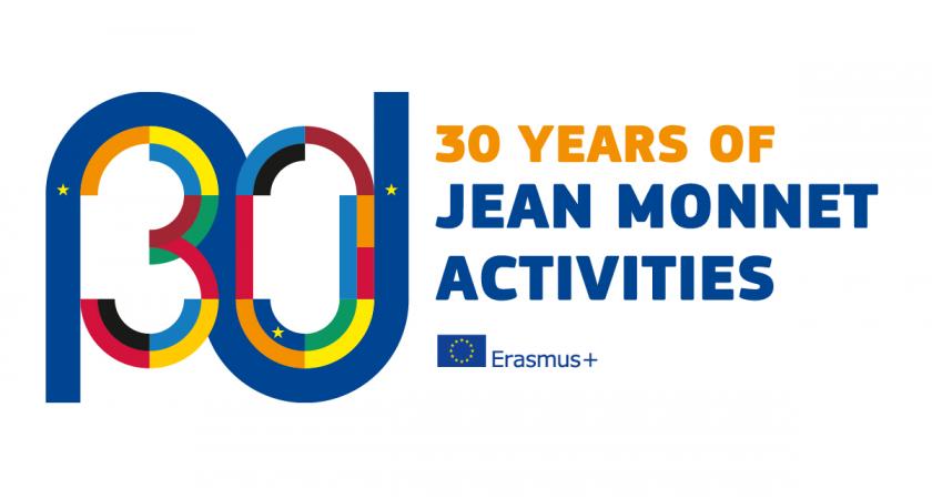 Logo 30 anni Jean Monnet (cc) Programma Jean Monnet