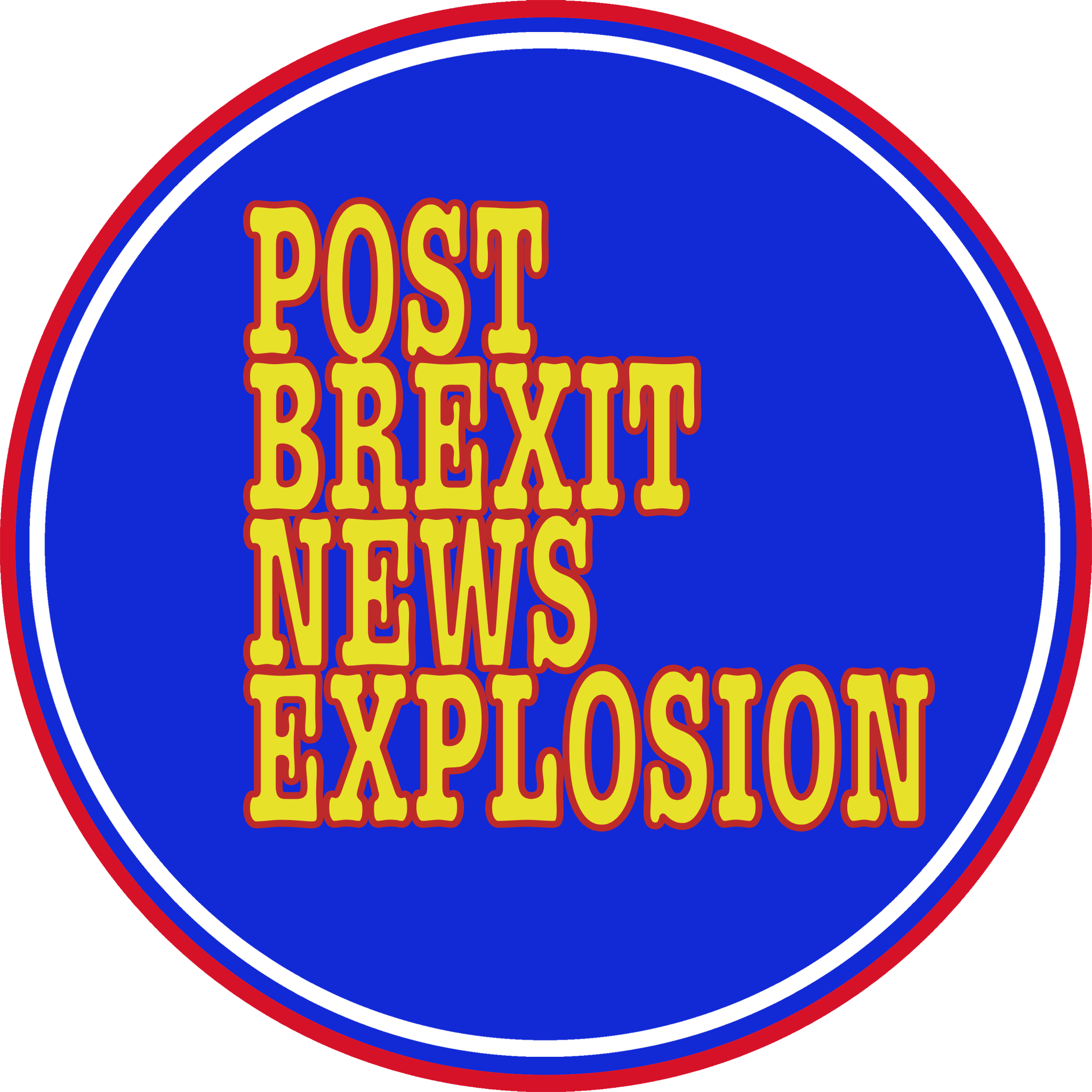 Logo Post Brexit News Explosion
