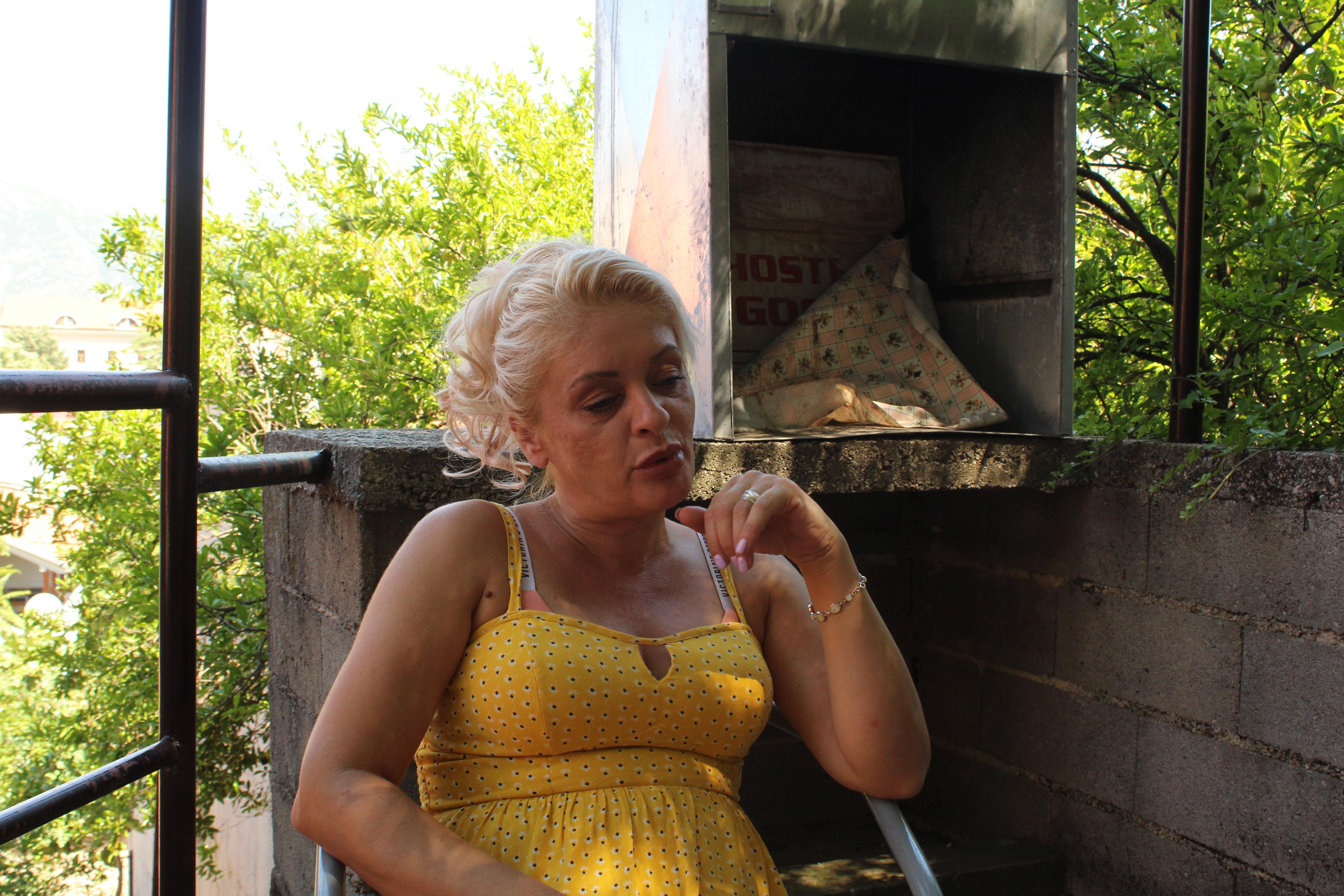 Anita 46 ans, est Bosniaque. Elle a ouvert un restaurant à Seattle aux Etats-Unis. (cc) Patrice Sénécal