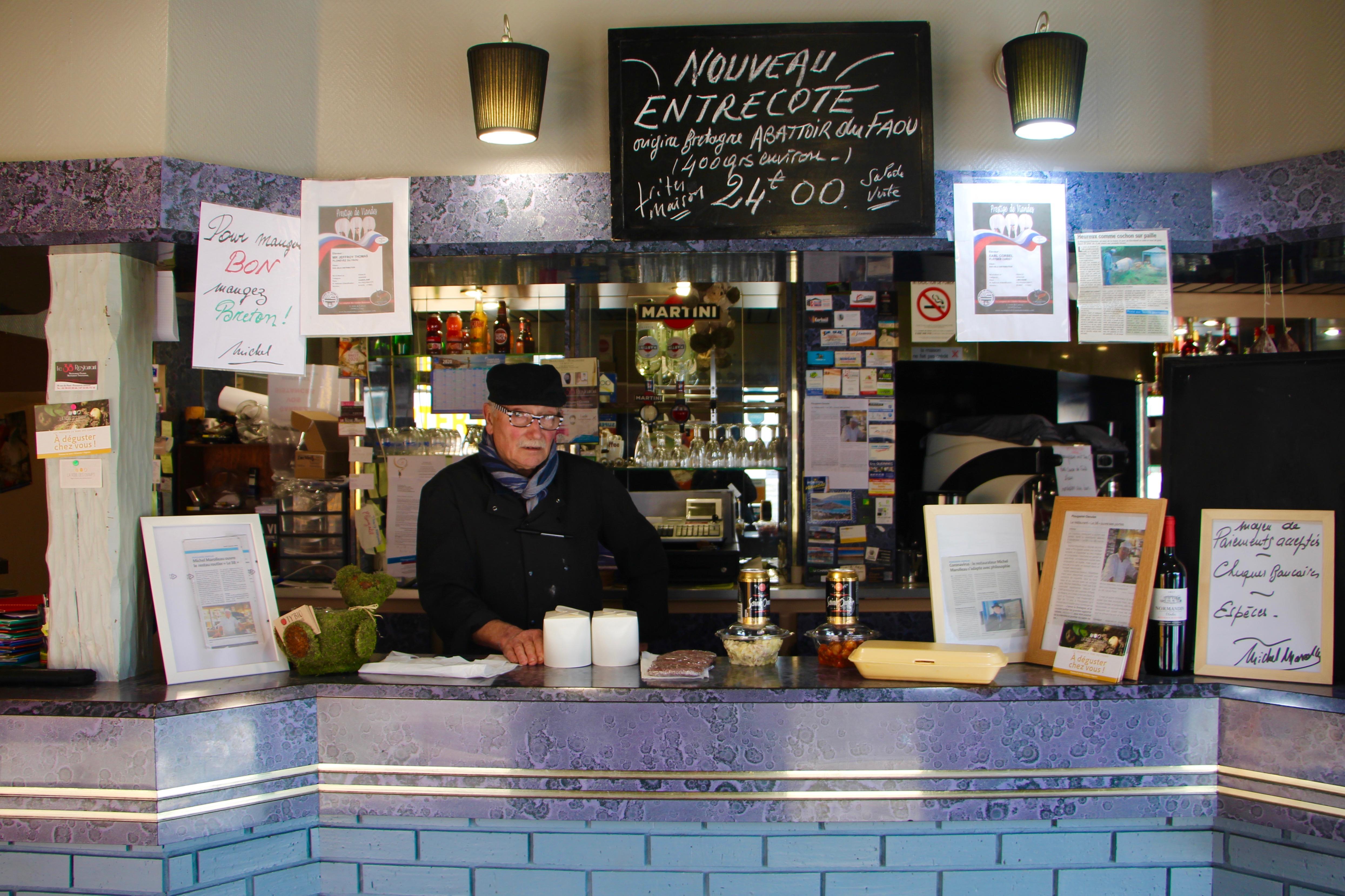 Michel, dueño de un restaurante