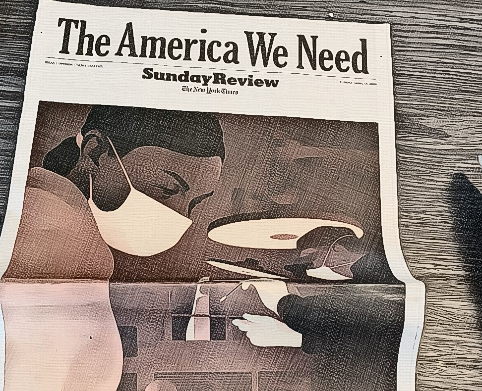 Copertina Sunday Review