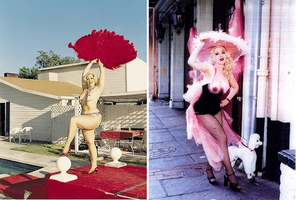 Dirty Martiny (L) and Candy Whiplash (R), 2001 © Katharina Bosse