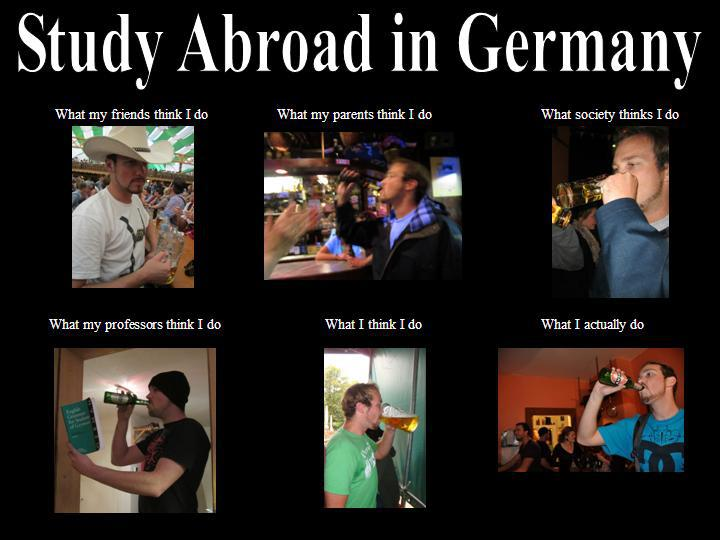 How studying abroad visions change in Germany