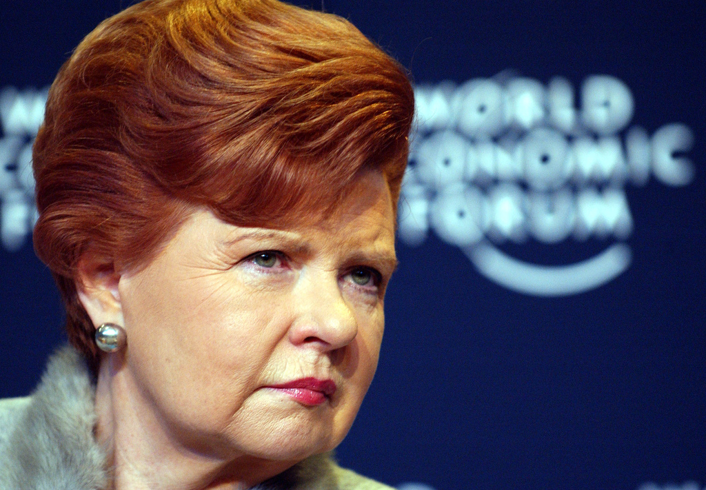 Vaira Vike-Freiberga (Foto: ©World Economic Forum/ Flickr)