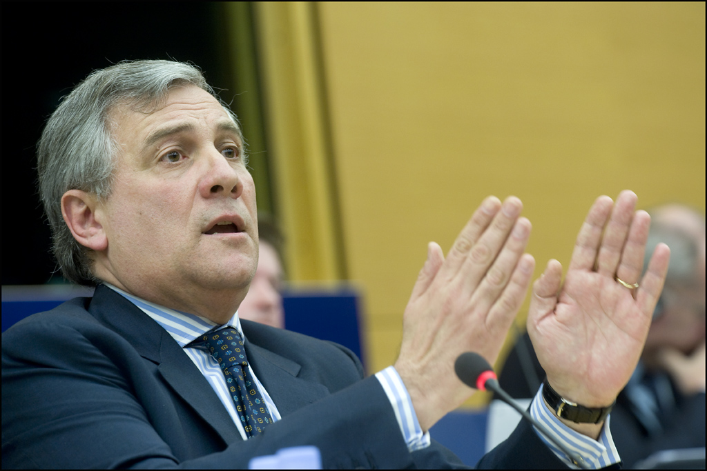 Antonio Tajani: Commissario all'Industria e all'Imprenditoria