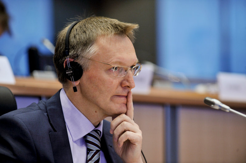 Janez Potocnik (commissioner for environment) from research to Europe: 'the decided'