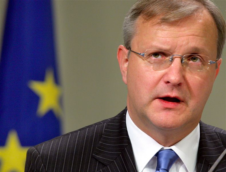 Olli Rehn (economic and monetary affairs commissioner): 'the firm Finn'