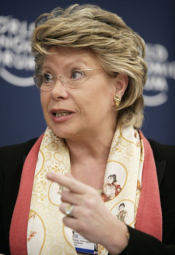 Viviane Reding (commissioner for justice, fundamental rights and citizenship): 'the humane one'