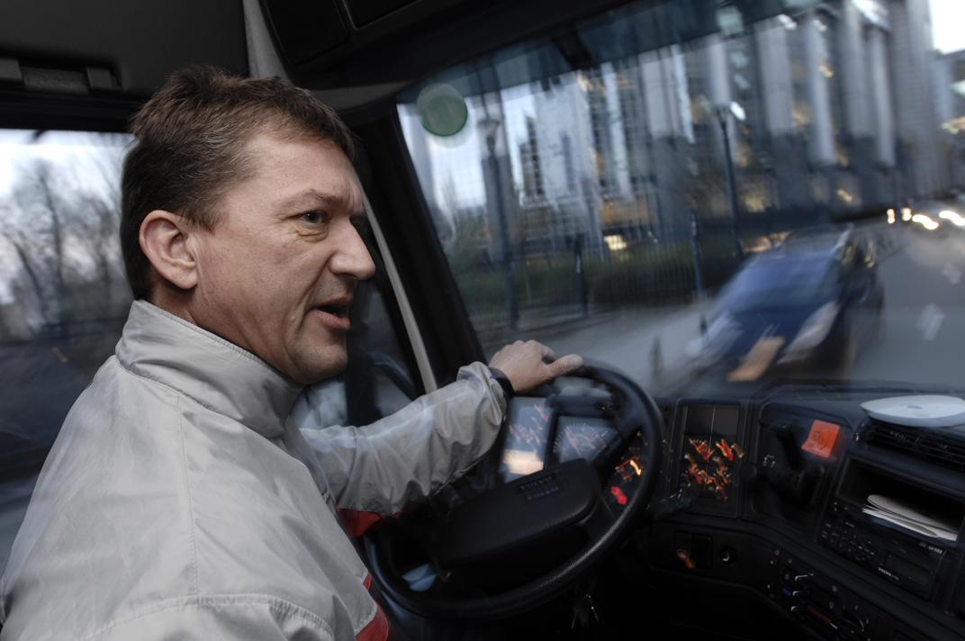 Ole Paastegat, camionista per il Parlamento.